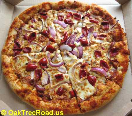 Curry Crust Edge Pizza by Pizza Hut © OakTreeRoad.us