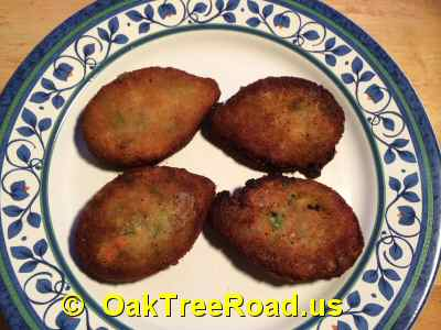 Deep Vegetable Cutlets image © OaktreeRoad.us