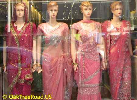 Oak Tree Road Indian Bridal Sarees image © OakTreeroad.us