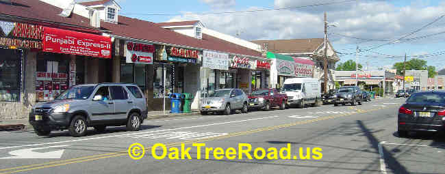 Iselin Oak Tree Road image © OakTreeroad.us